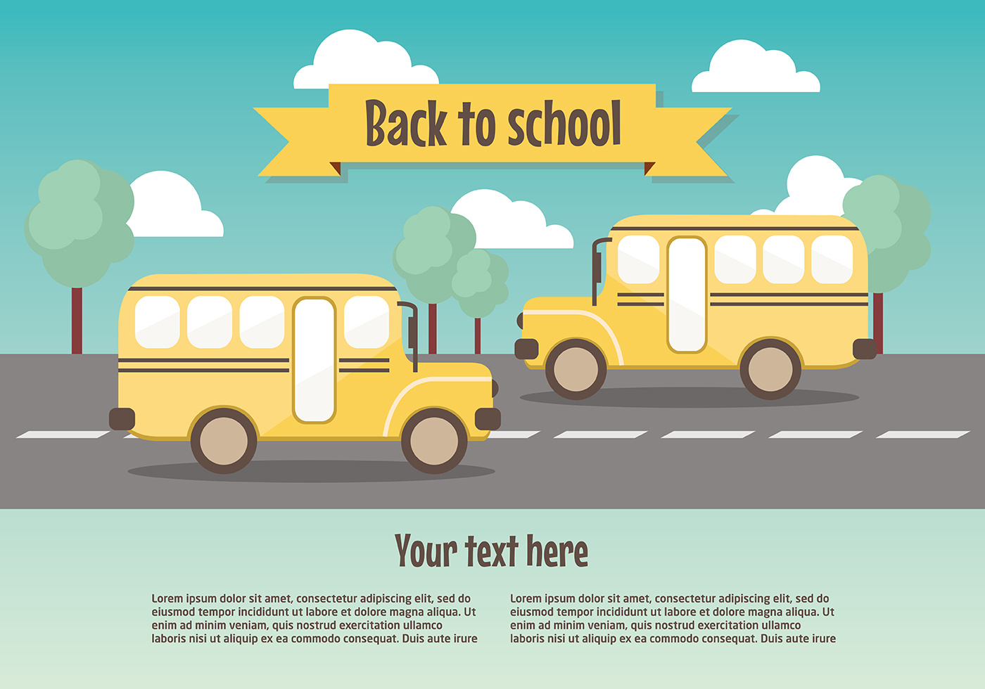 back to school vector - photo #44