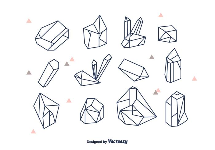 Geometric Crystals Vector Set