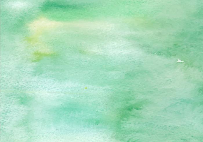 Verde acuarela textura vector libre