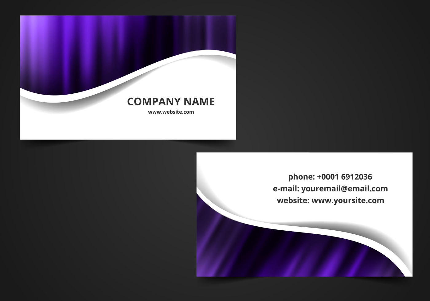 Vector Visiting Card Background - Download Free Vector Art ...