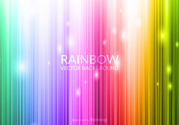 Vector Glowing Rainbow Background