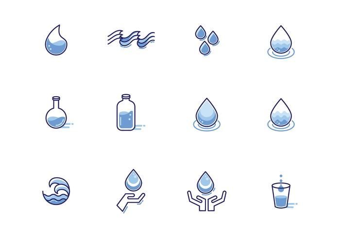Gratis Agua Vectoren