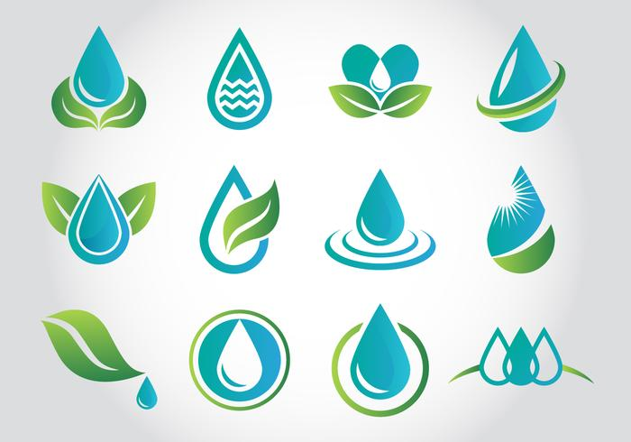 Gratis Aqua Water Logo Vectoren