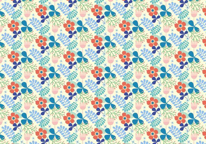 Flores patrón de vectores