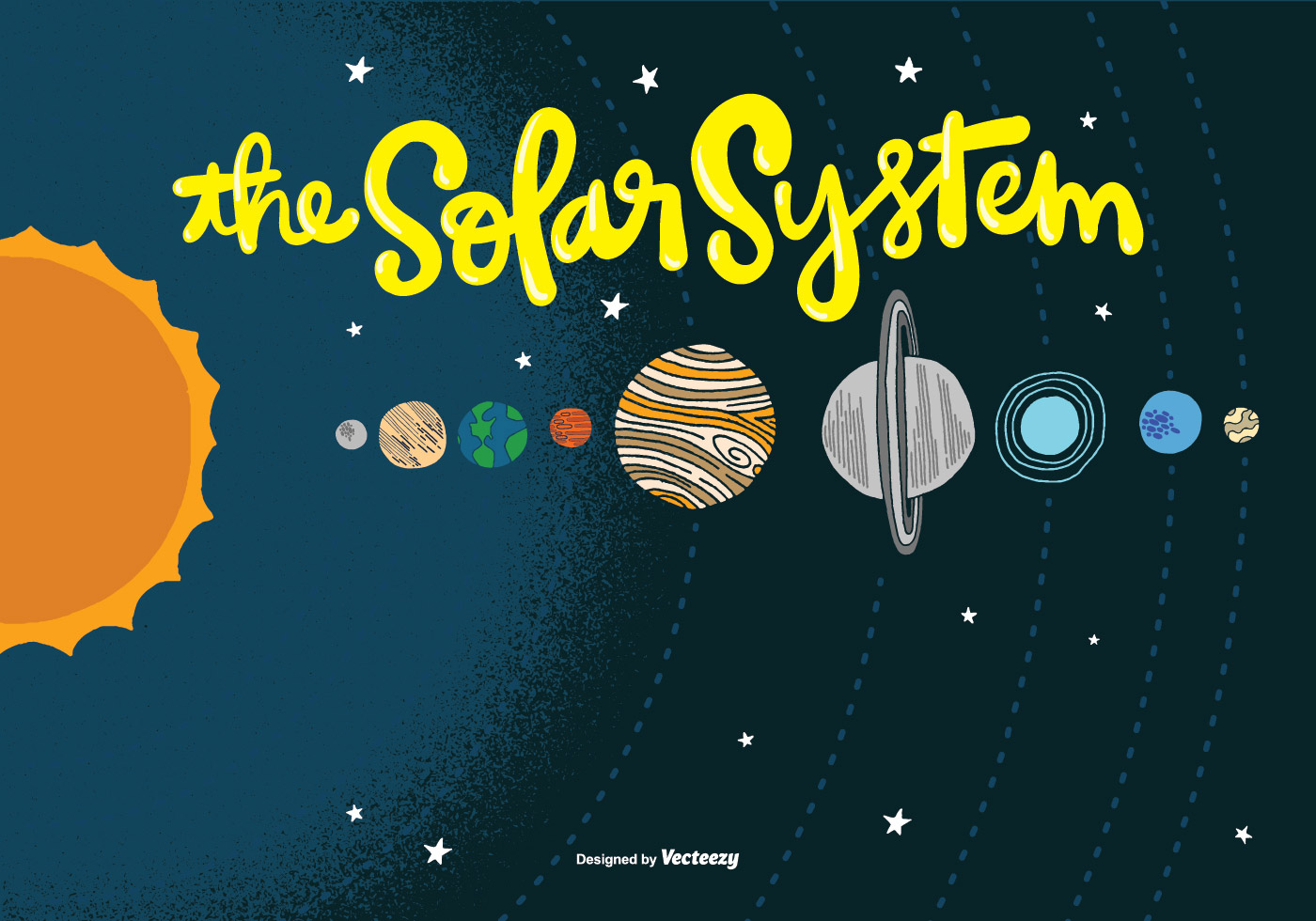 solar system vector free download - photo #17