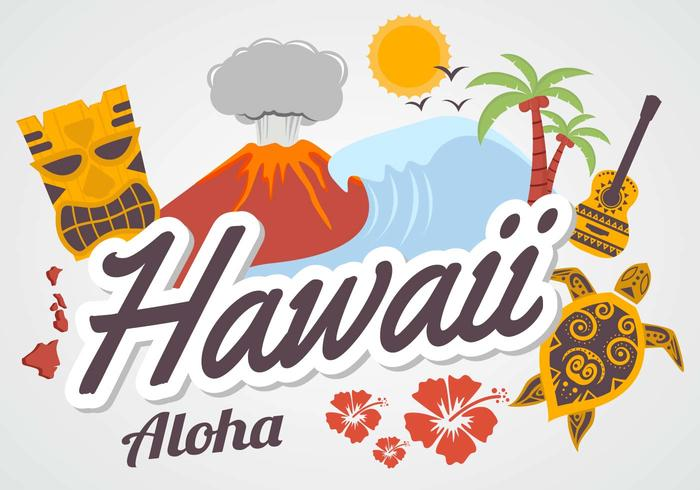 Gratis Hawaii Vector