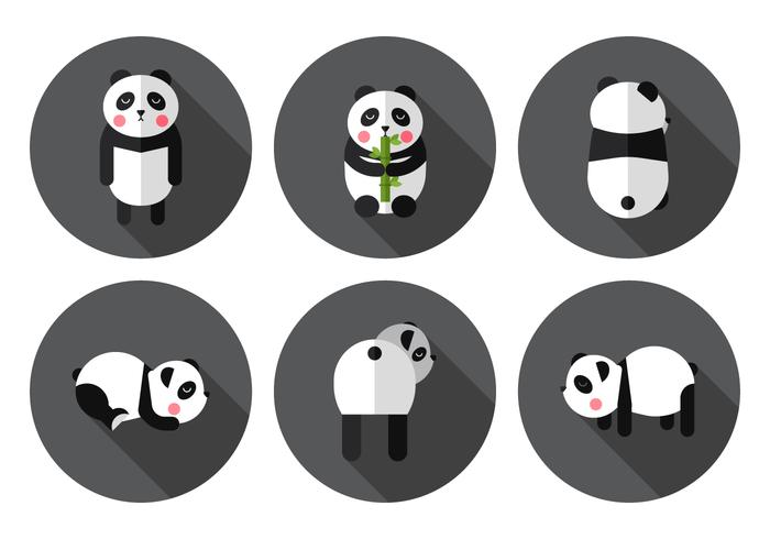 Panda vettoriale