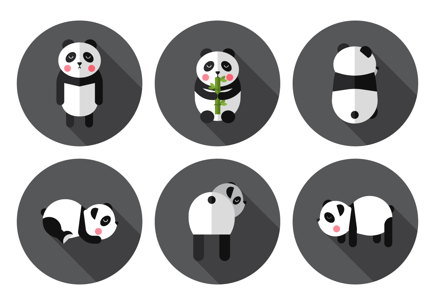 vector panda download free vector art stock graphics images