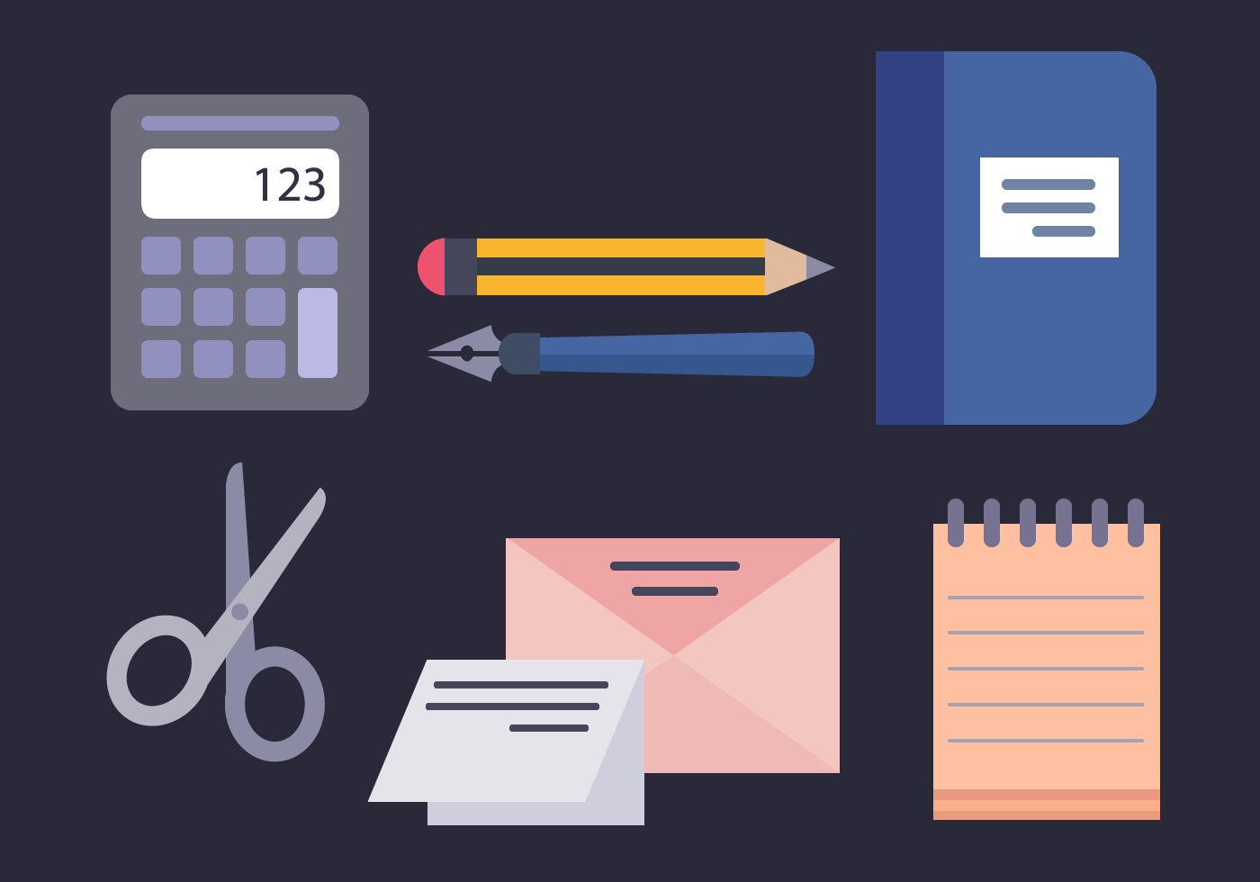 Free Office Elements Vector Download Free Vector Art