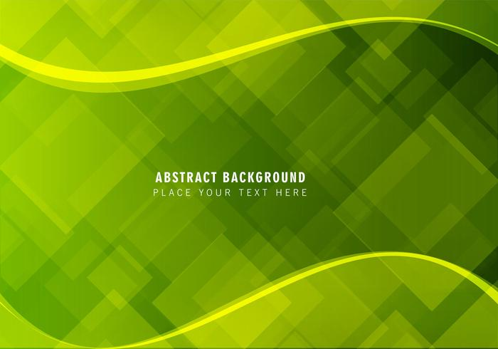 Vector Free Abstract Green Background