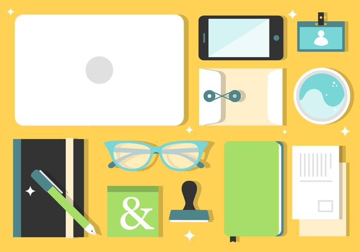 Free Working Desk Vector Tools