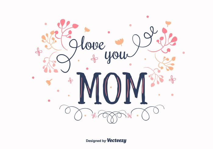Mom Vector Background