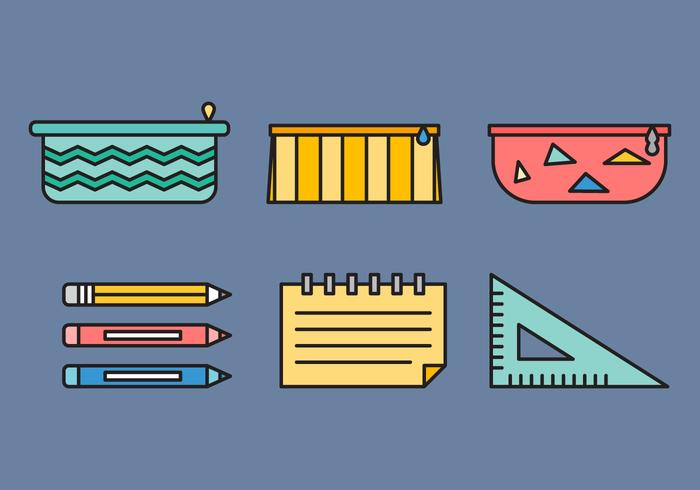 Free Pencil Case Vector 2