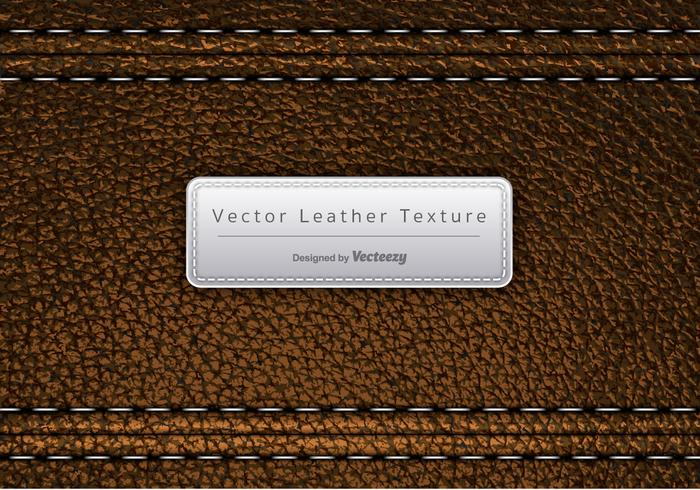 Vector Brown Leather Texture