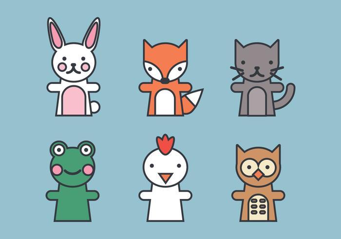 Marionnette d'animaux