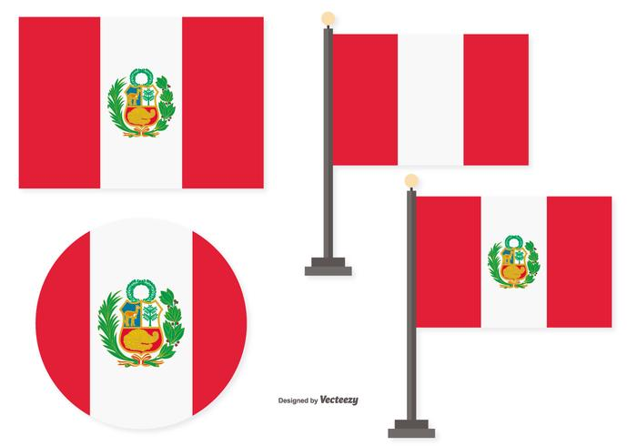 Flags of Peru