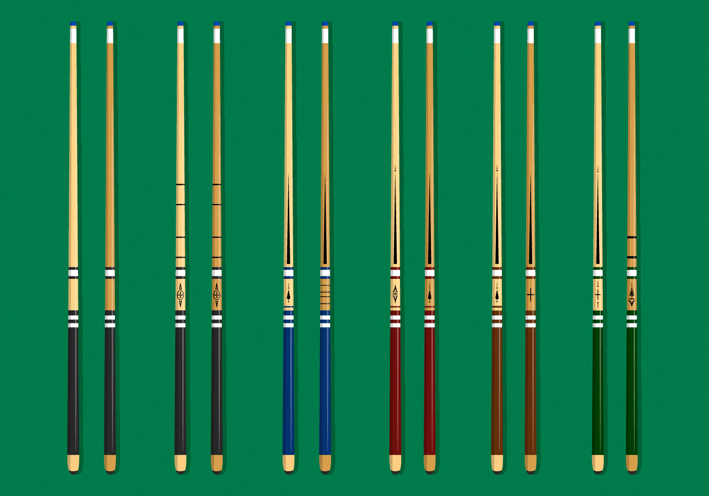 Awesome Pool Stick Download Free Vectors Clipart