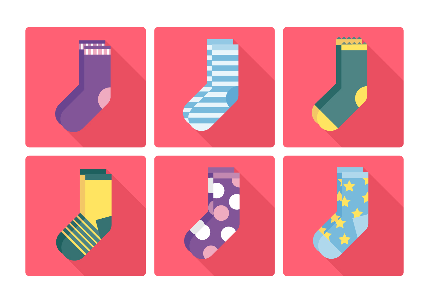 Socks Free Vector Art 8 440 Free Downloads