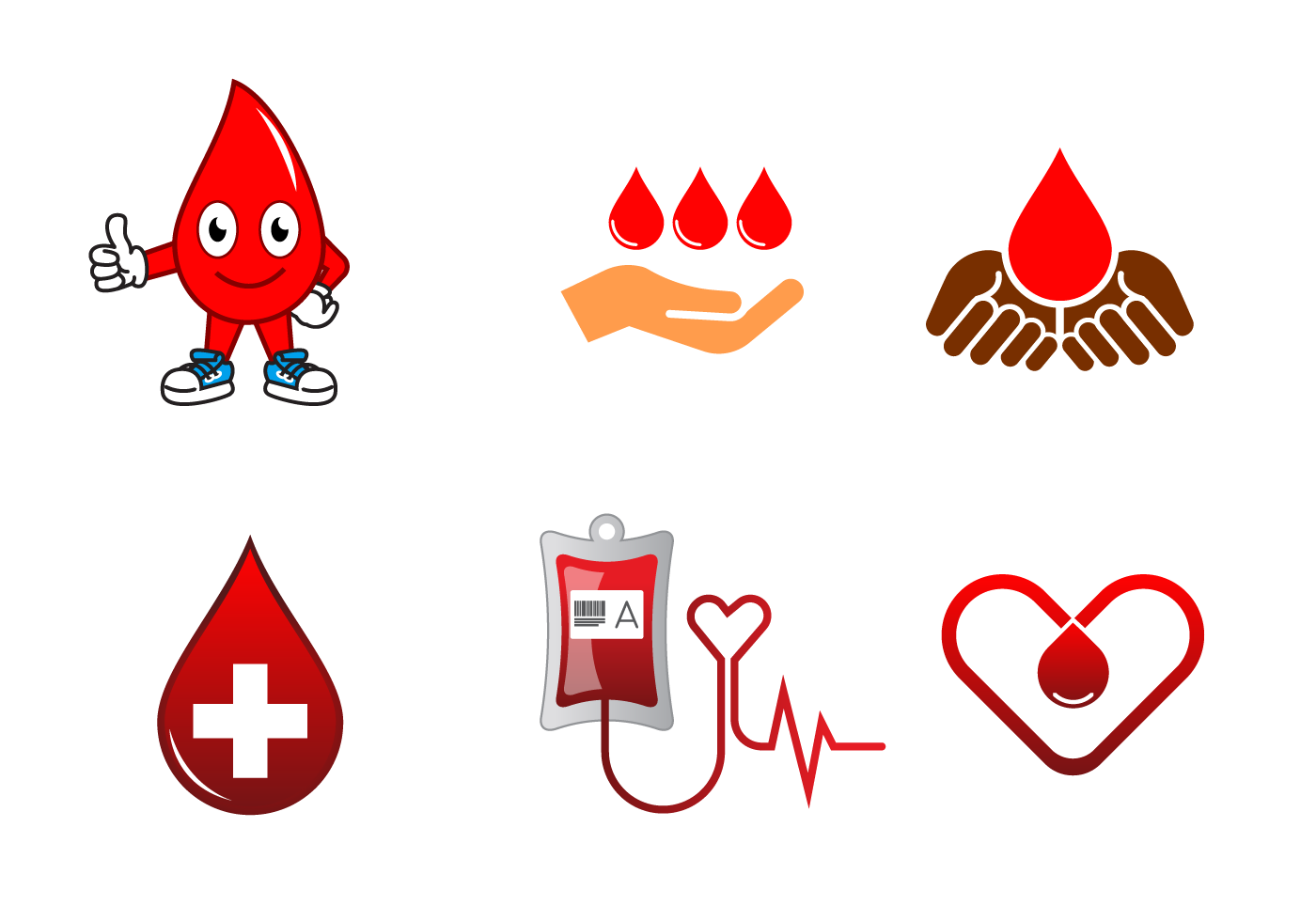 Free blood drive vector download free vector art stock graphics images for Blood bank planning and designing