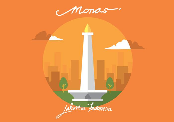 Monas Vector Art