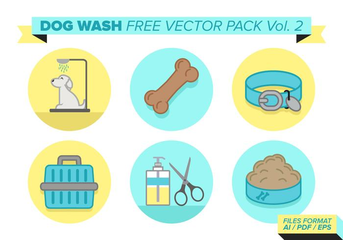 Dog Wash Free Vector Pack Vol. 2