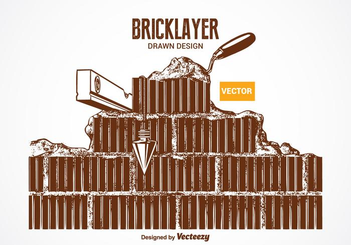 Free Vector Bricklayer Design