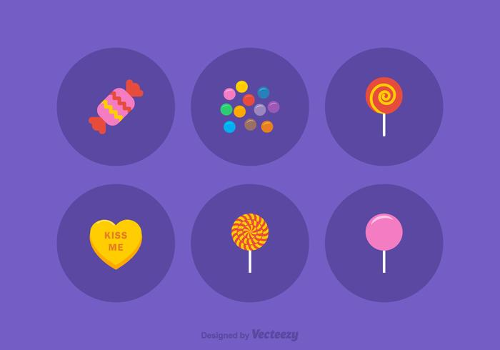 Free Candy Vector Icons
