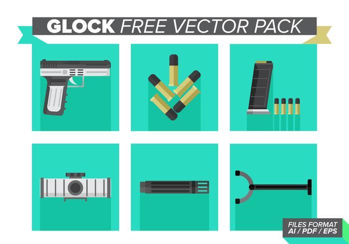 Glock Free Vector Pack