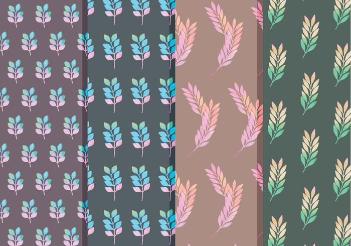 Vector Floral Branch Patterns