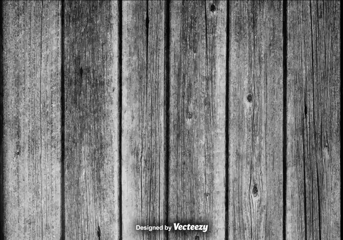 Realistic Vector Gray Hardwood Planks Background