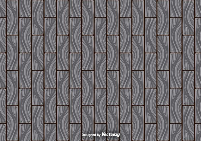 Abstract Gray Hardwood Planks Seamless Pattern vector