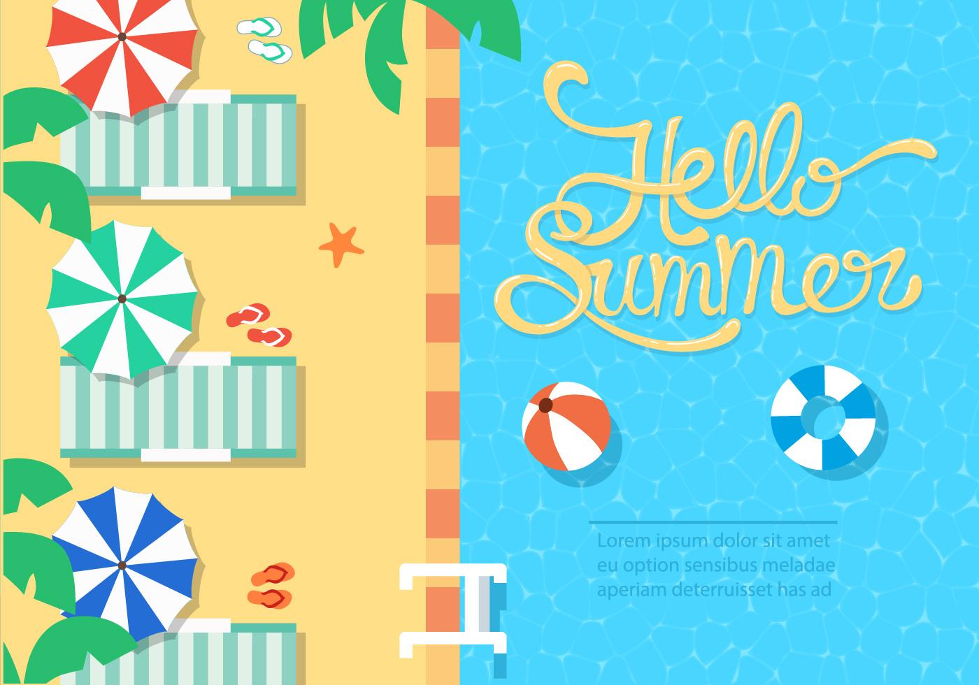 summer vector illustraitons - photo #32
