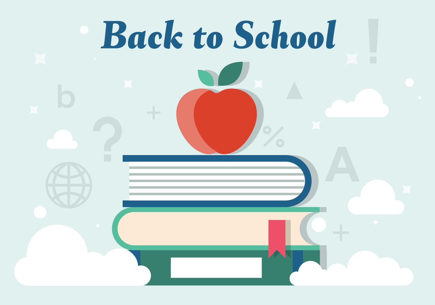 back to school vector - photo #15