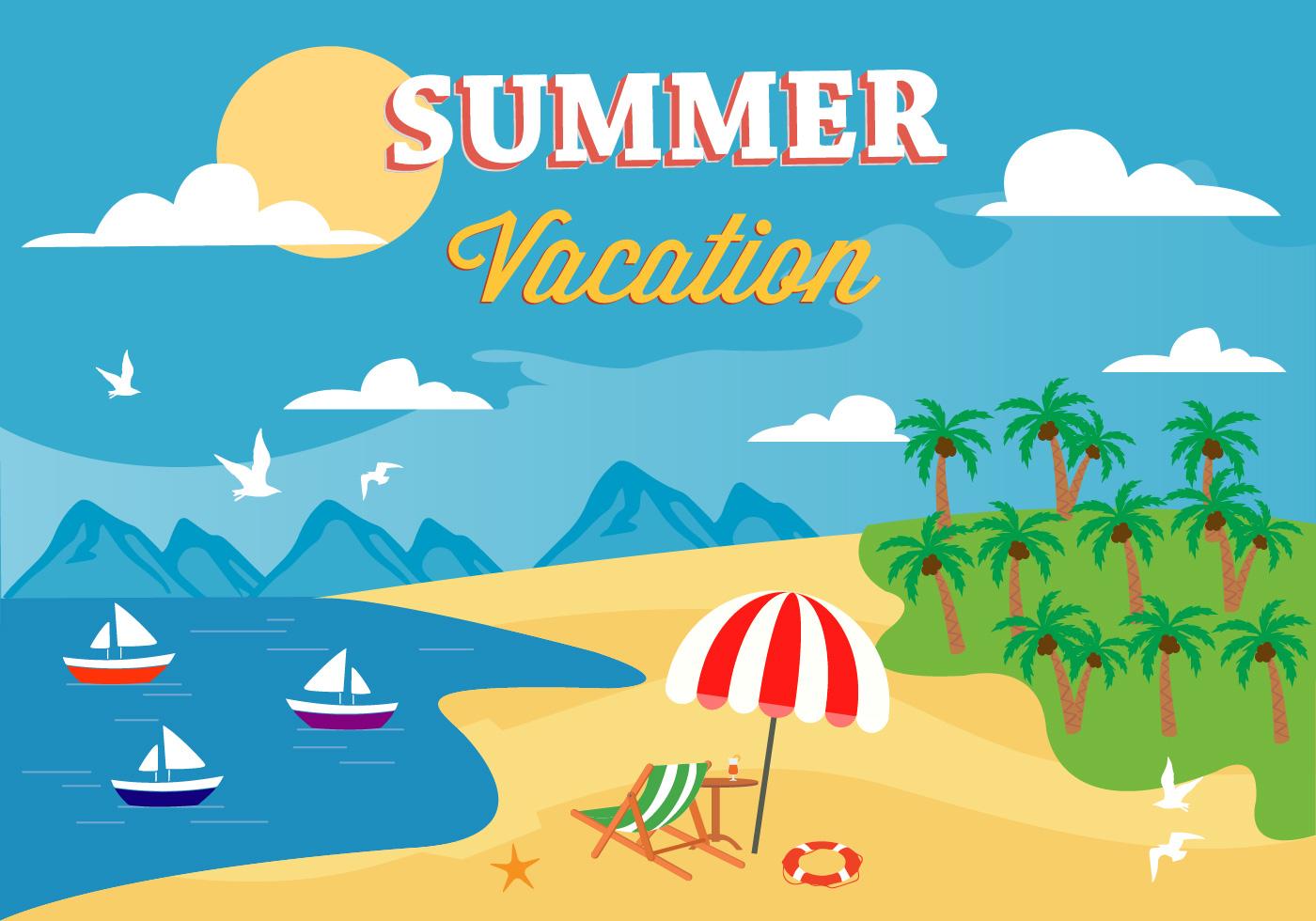 summer vector illustraitons - photo #1
