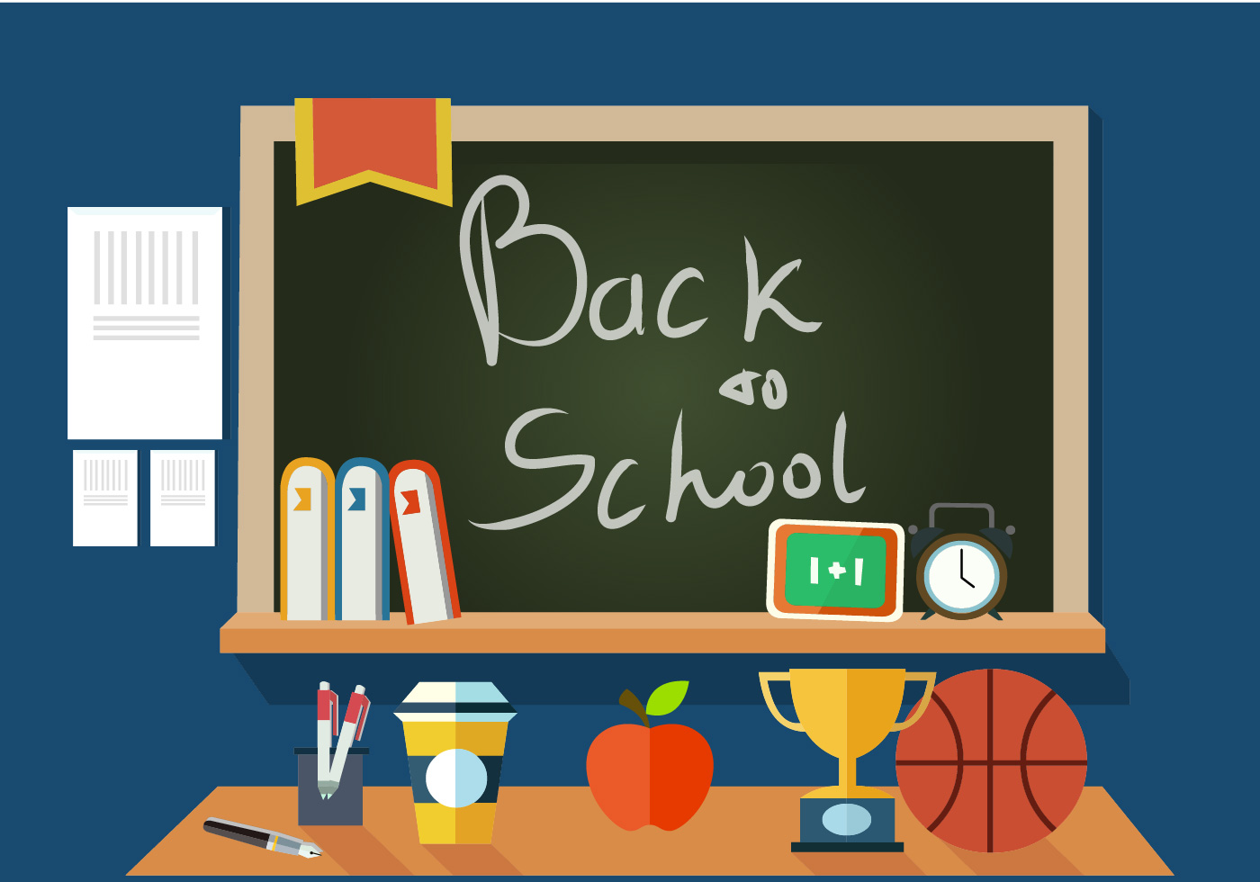 back to school vector - photo #38