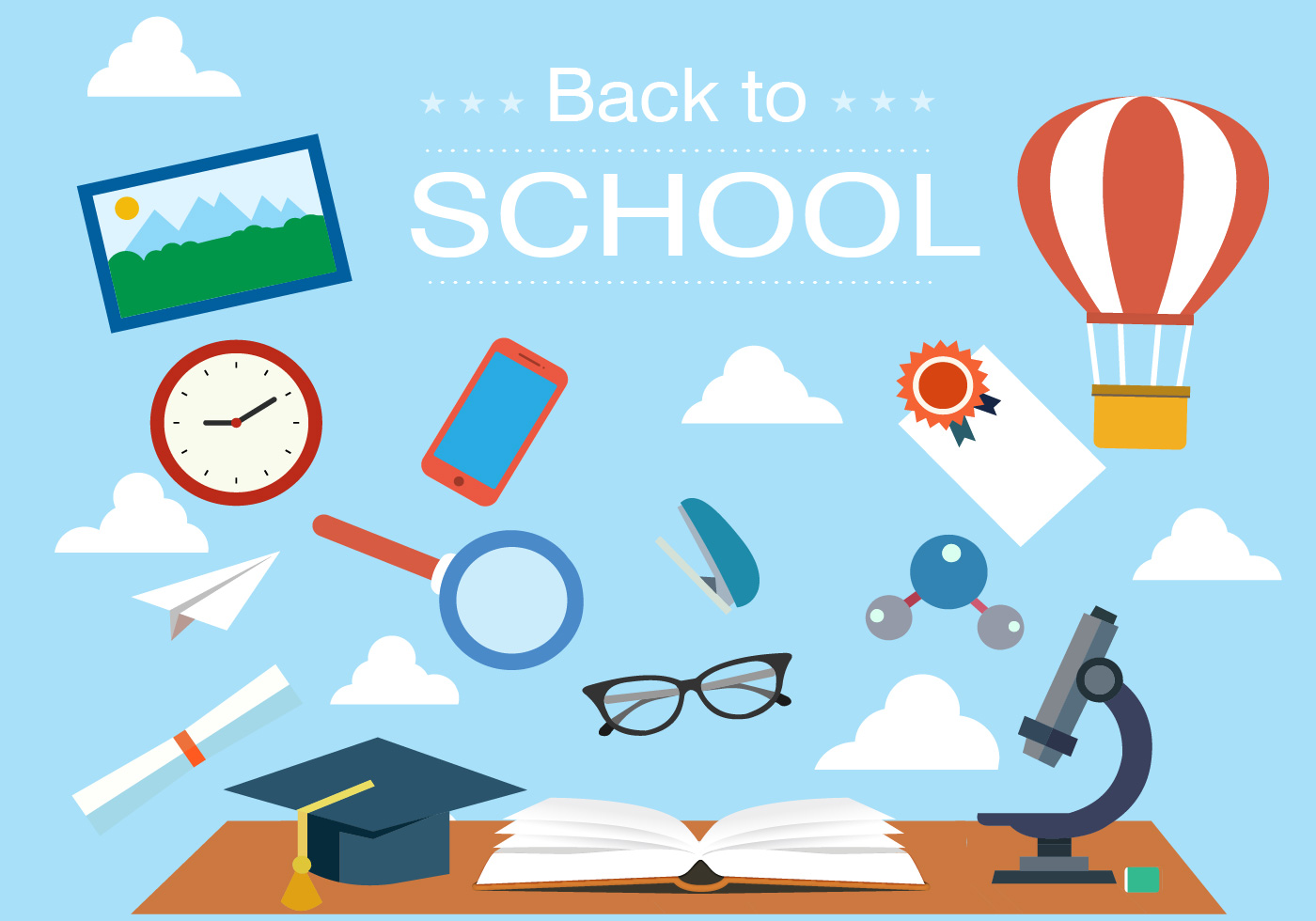 back to school vector - photo #8