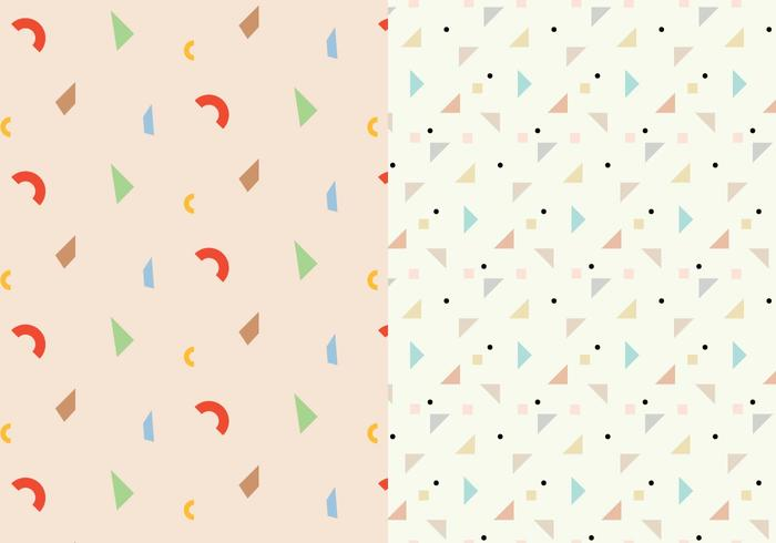 Geometrisk abstrakt mönster