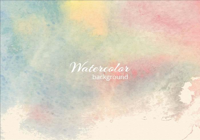 Free Vector Soft Watercolor Blue Background