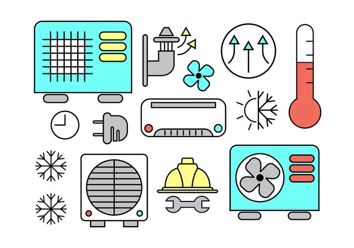 HVAC Vector Icons