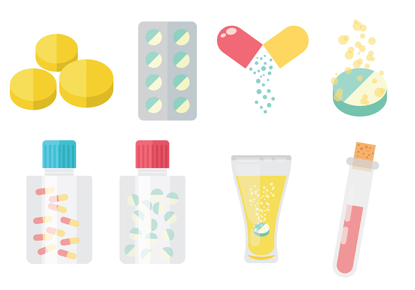 Free Treatment Vector Icons