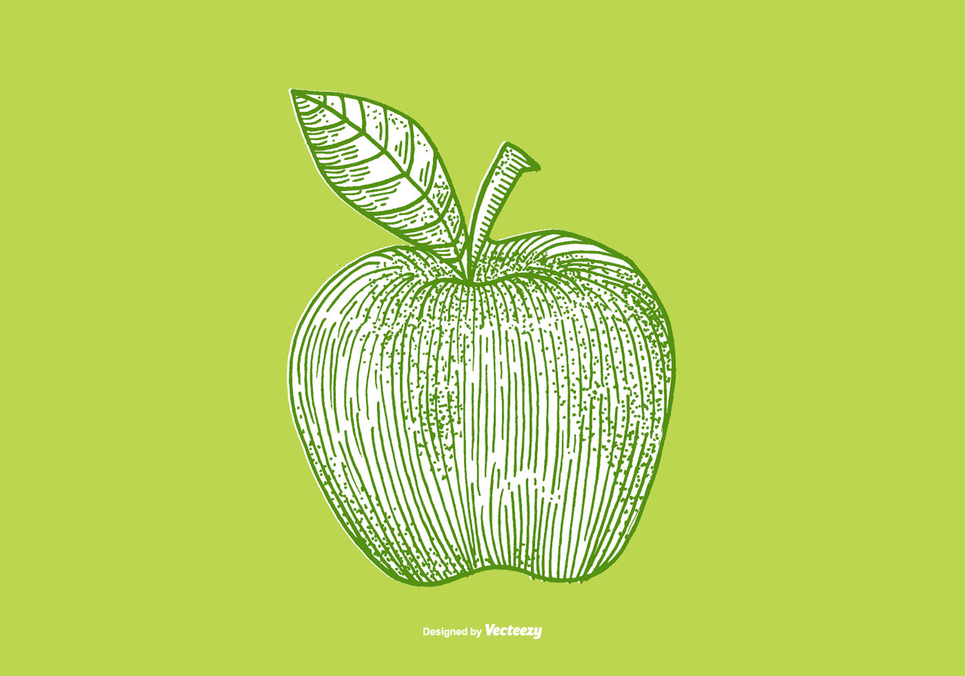 Vector Drawing Lines App : Apple line drawing download free vector art stock