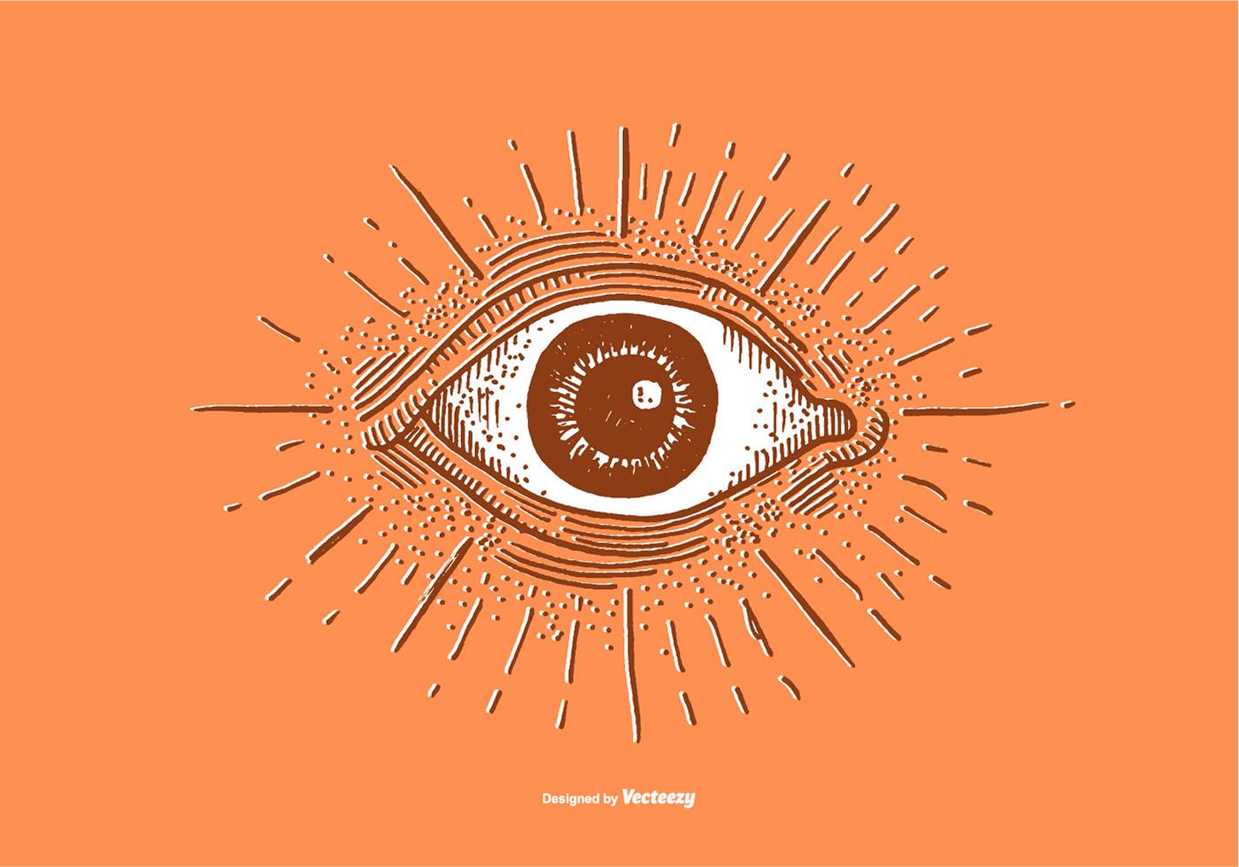 Line Drawing Eye : Eye free vector art downloads