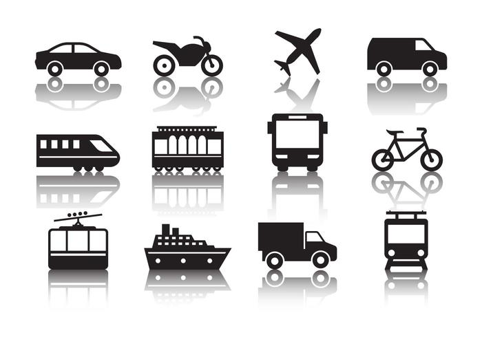 Free Transportation Icons Vector - Download Free Vector Art, Stock Graphics & Images