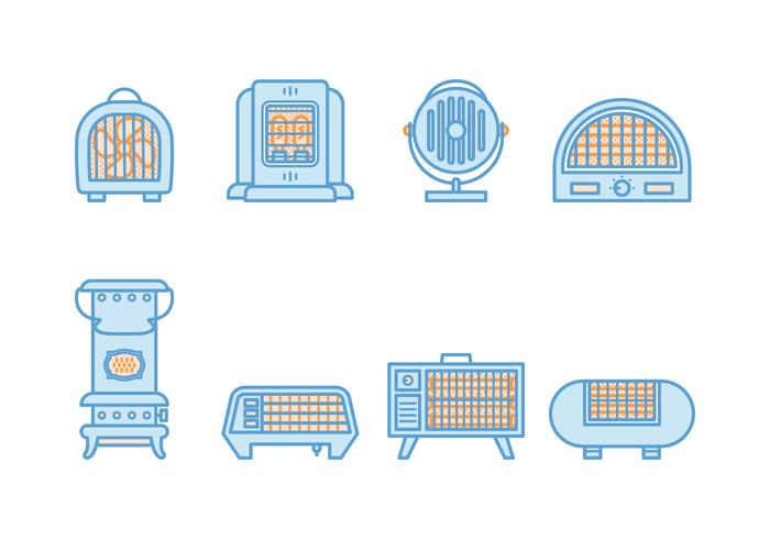 Free Vintage Heater Vector