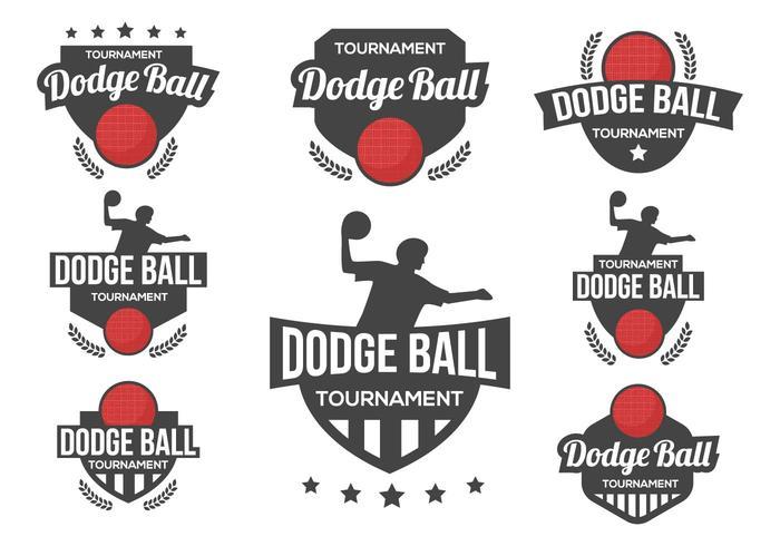 Vector libre del logotipo de la bola de Dodge