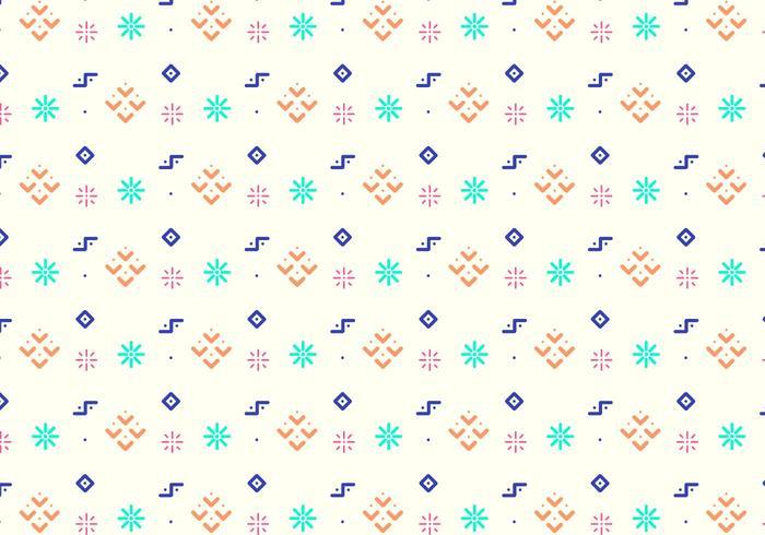Fun Geometric Shapes Pattern