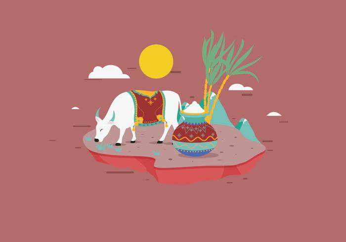 Pongal Vector