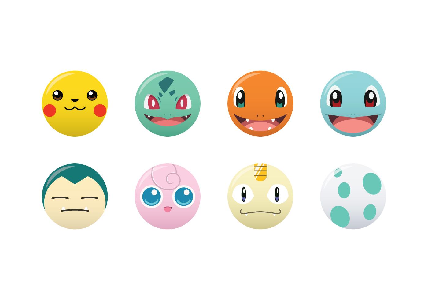 Pokemon Vector Images