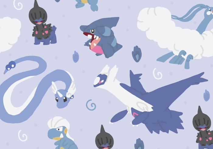 Dragon Type Pattern vector