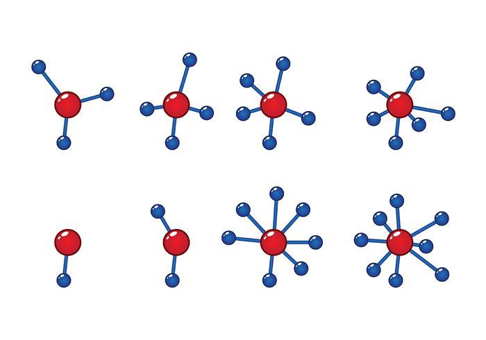 Atomiumvektor 2 vektor